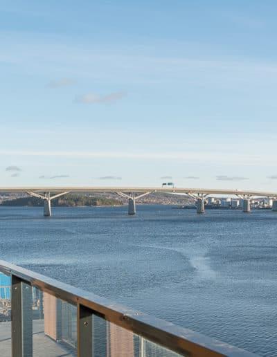 Utsikt från Brf Prima, Sundsvall